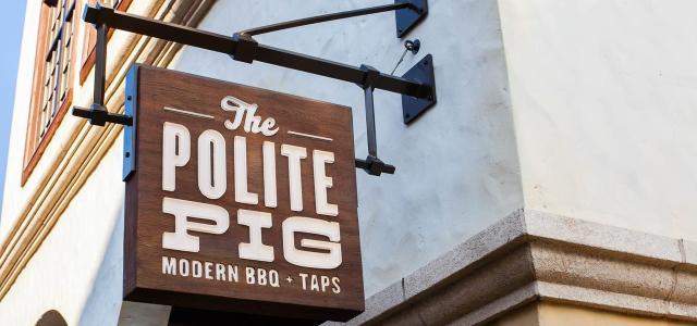 The Polite Pig – Disney Springs, Orlando Florida
