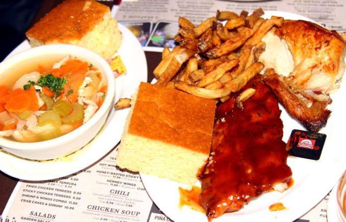 Dallas BBQ BBQ Ribs Chicken Combo 43645663714