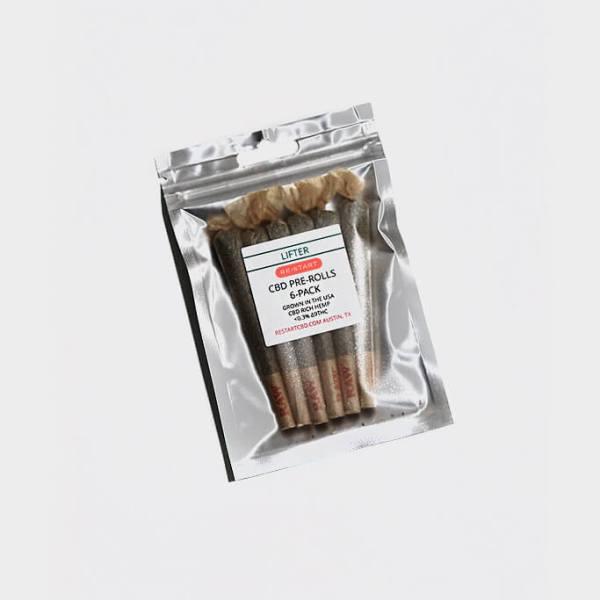 RESTART CBD PreRoll 6-pack