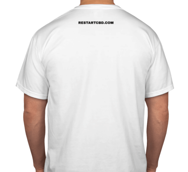 RESTART CBD I love it T-Shirt Back