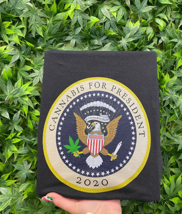 Restart CBD T-shirt Cannabis for President