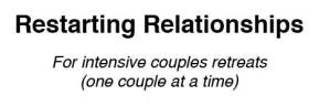 Restarting Relationships couples retreats logo