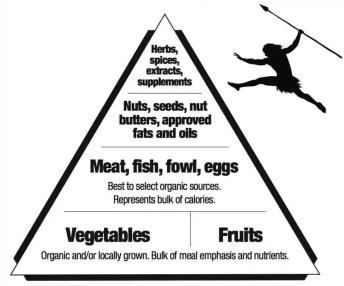Paleo food pyramid