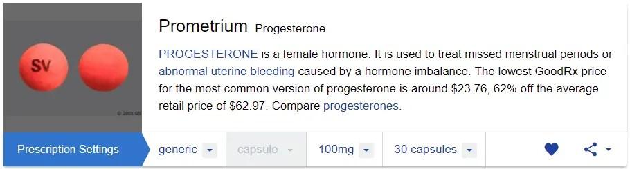 Brand Prometrium For Sale