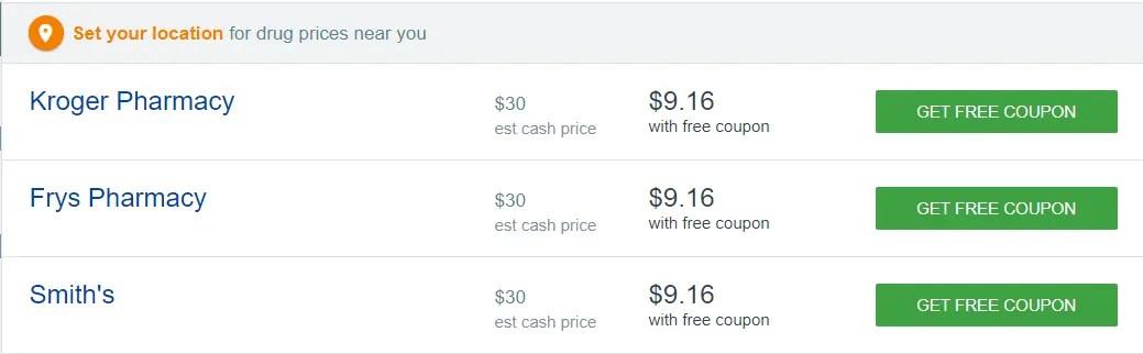 phentermine pricing compared to qsymia