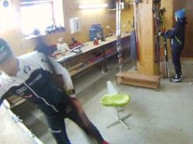Príprava lyží