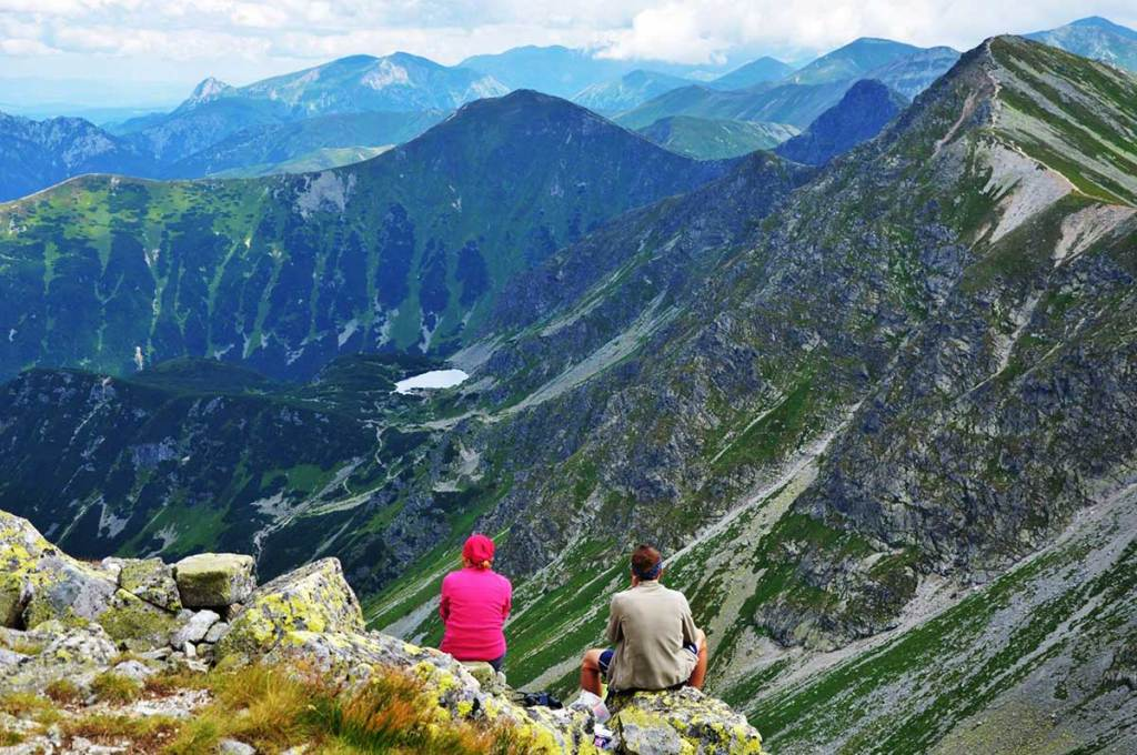 Roháčske plesá - turistické trasy/ cyklotrasy