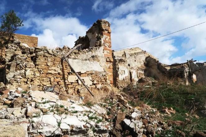 ruiny mesta