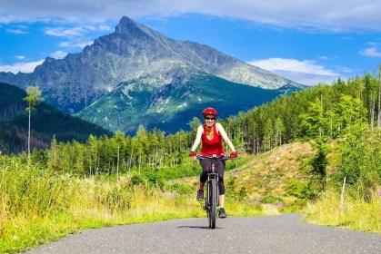 Kriváň, Jamské pleso - turistické trasy/ cyklotrasy