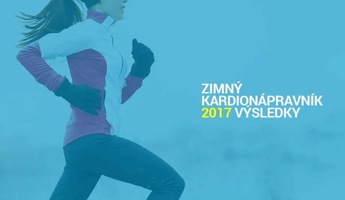 Výsledky Zimného kardionápravníka 2017