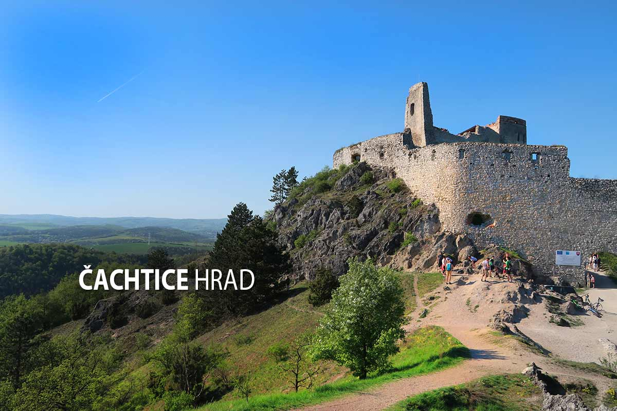 9c7dc4db6 Čachtice hrad - turistické trasy/ cyklotrasy