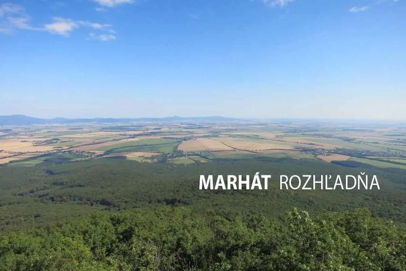 Marhát, Považský Inovec - turistické trasy/ cyklotrasy