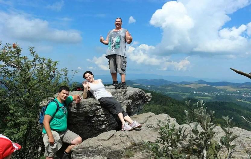 Poľana - turistické trasy/ cyklotrasy