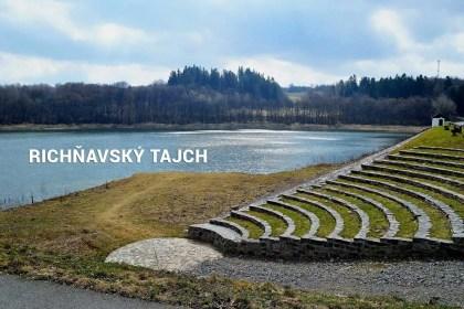 Richňavský tajch - Banská Štiavnica - odporúčané turistické trasy/ cyklotrasy
