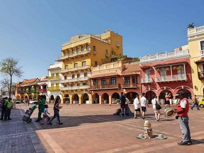Ciudad amurallada, Cartagena