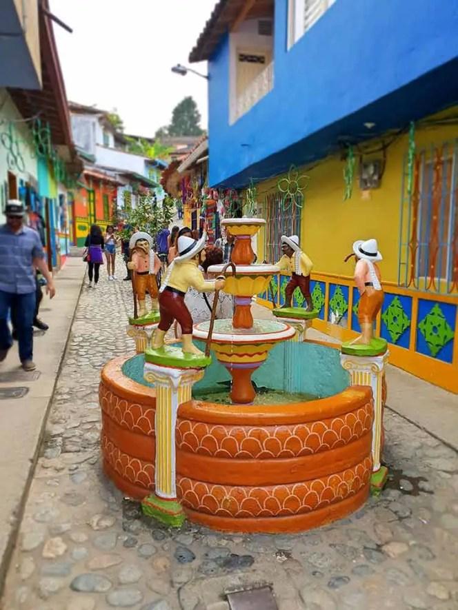 Fontánka, Guatapé