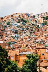 Slumy v Medellíne