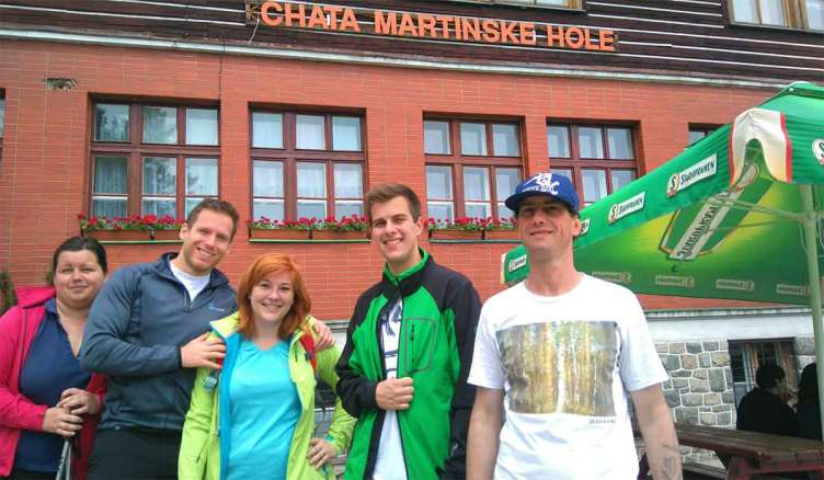 chata Martinske hole