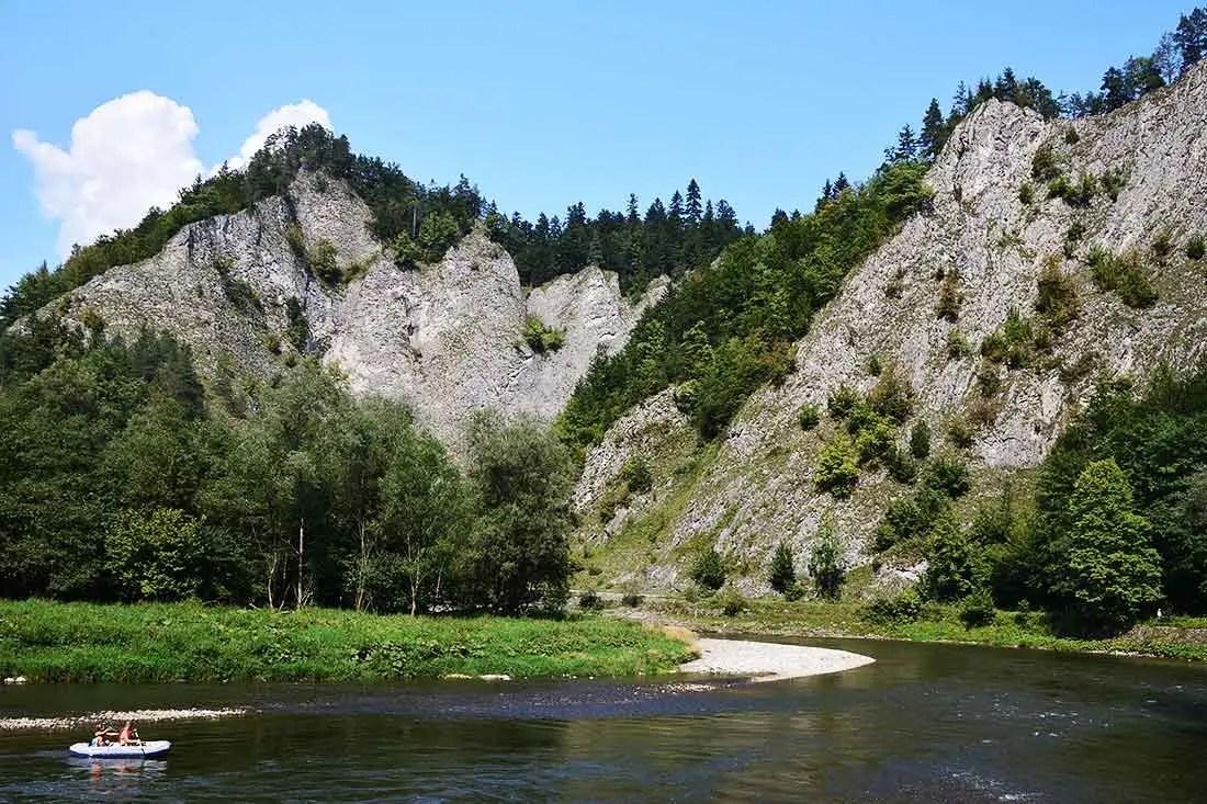 Pieniny a Dunajec na pltiach