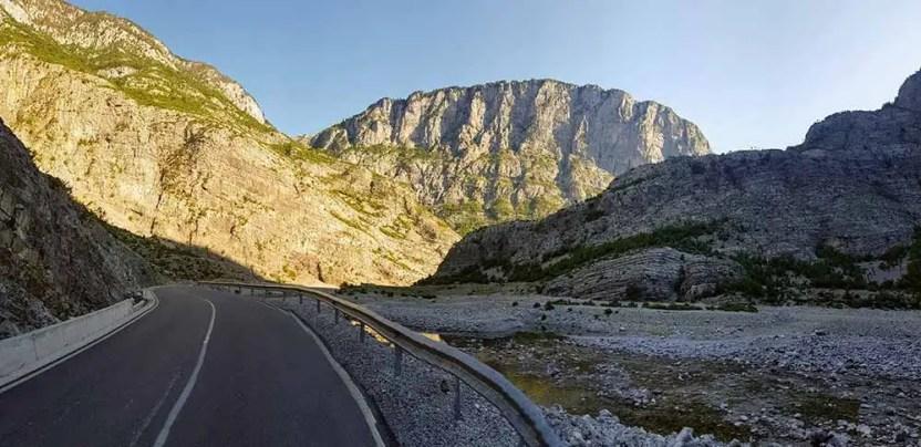 Na bicykli v Čiernej hore a Albánsku
