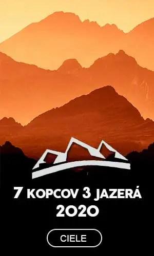 7 kopcov 3 jazerá 2020