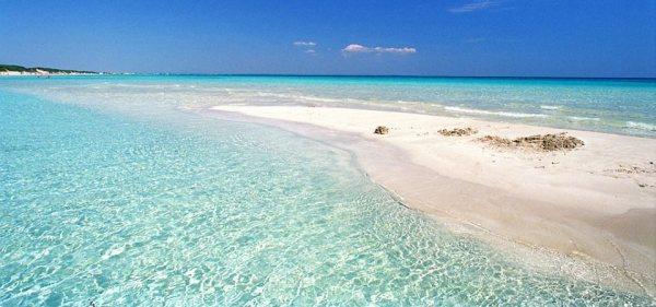 Una delle bellissime spiagge salentine