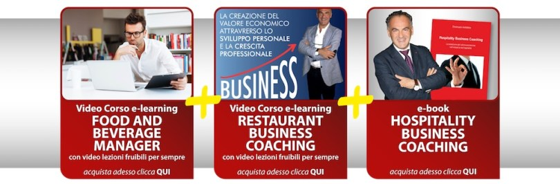 Food and Beverage Manager + Business Coaching + Hospitality Business Coaching Corso