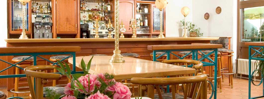 Barbereich-Restaurant