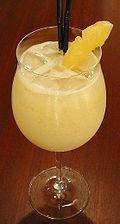 Brazil Colada Cocktail
