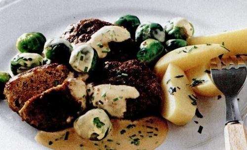 Chifteluţe cu varză de Bruxelles