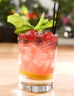 Cordial Cobbler Cocktail