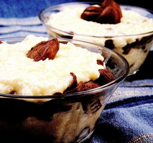Cremă de vanilie cu castane