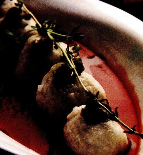 Găluşte de cartofi cu sos