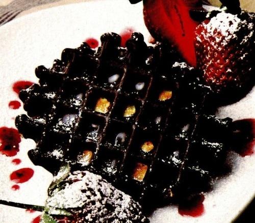 Gaufre cu ciocolată
