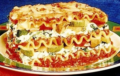 Lasagna vegetala cu dovlecel