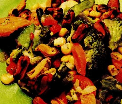 Midii cu legume