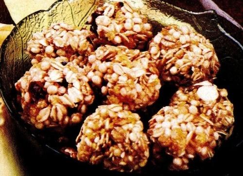 Mingiuţe de cereale cu gutui