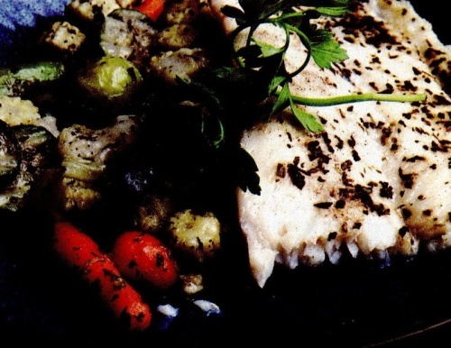 Peşte cu legume picante