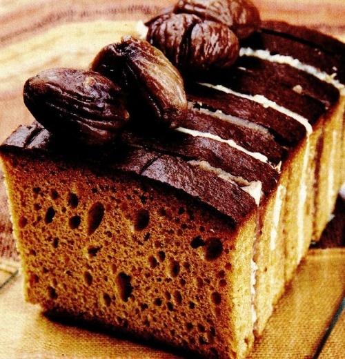 Prăjitură cu castane