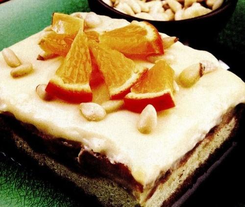 Prăjitură cu muguri de pin