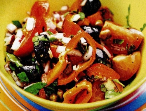 Salata cu ardei in stil spaniol