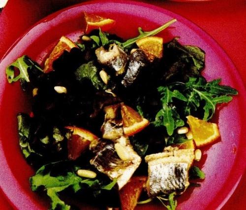 Salată de hering cu portocale
