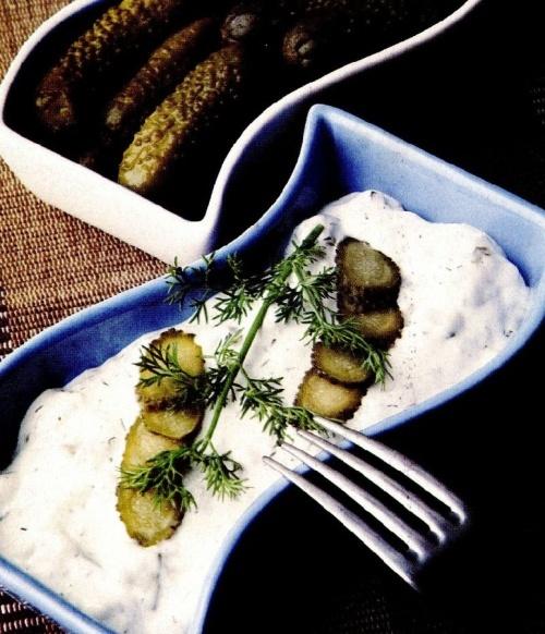 Salată de peşte cu smântână