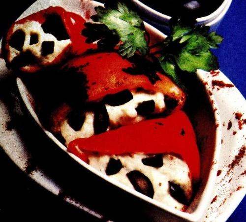 Salată de vinete cu ardei