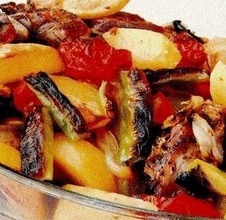 Scaricica de porc cu legume