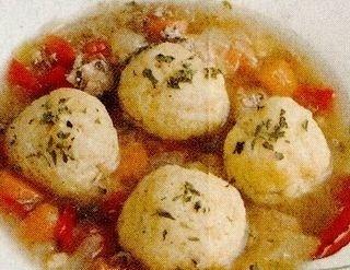 Supa cu galusti