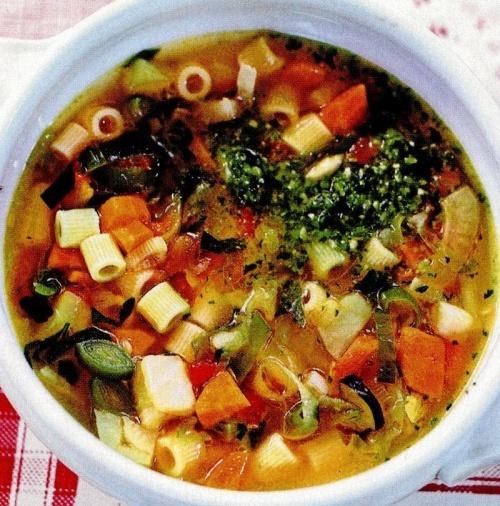 Supă cu paste