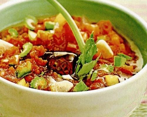Supa rece de legume