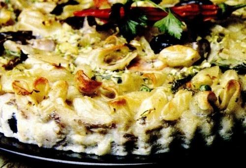 Tartă picantă cu legume