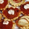 Tarte cu piure de mere şi de dovleac